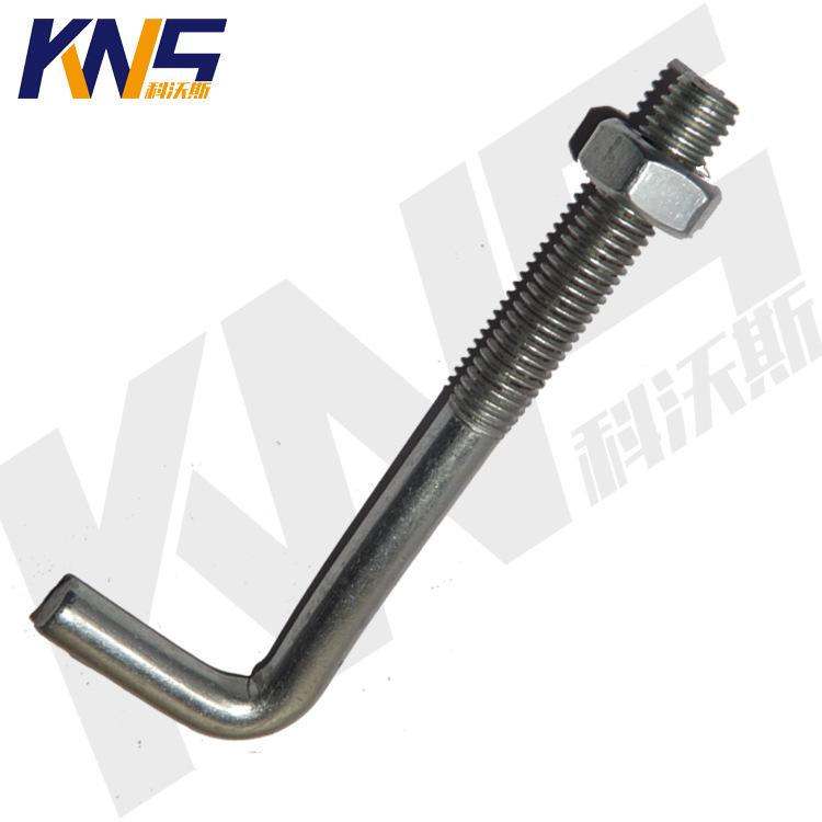 专业生产瓦勾丝 勾头螺栓 7字丝 瓦弯勾螺栓 定做异型瓦勾丝