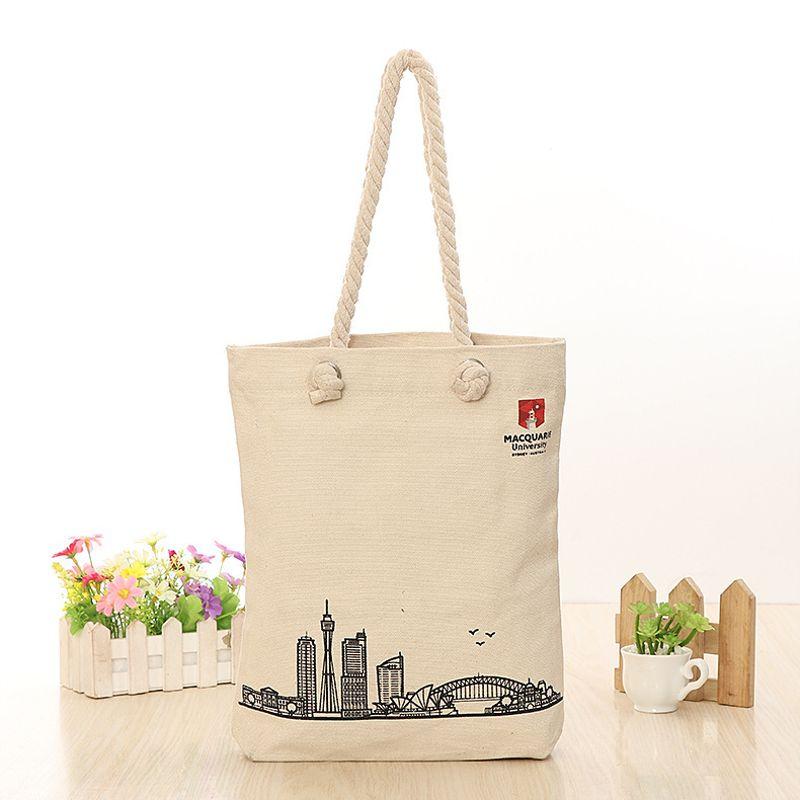 厂家定做拉链广告帆布袋 宣传礼品实用帆布袋 可加印logo