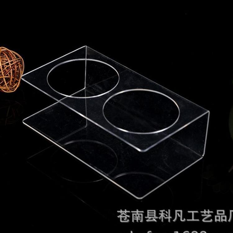 定做亚克力展示架台卡亚克力盒子广告牌饮料展示盒亚克力板材加工