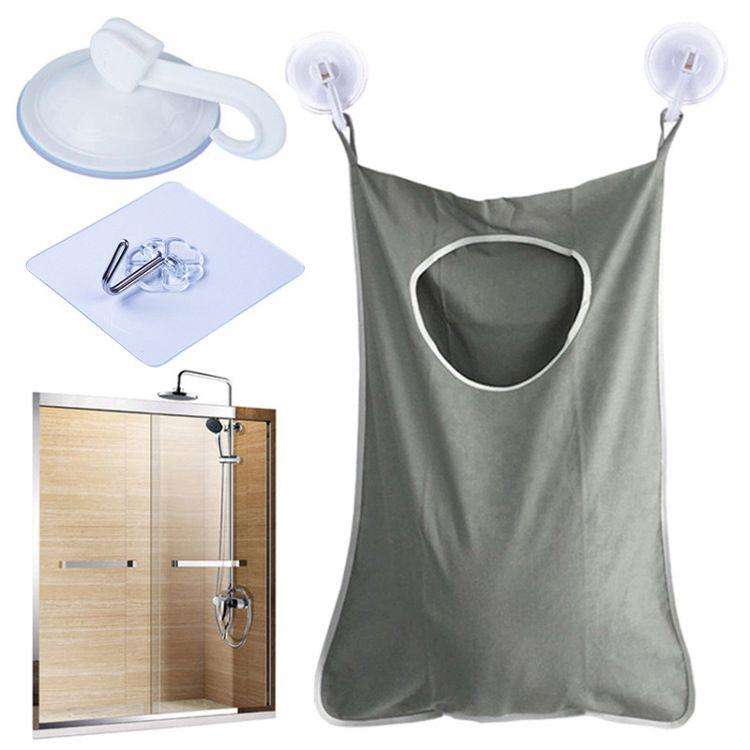 衣服衣袋袋挂袋牛津布整理衣袋墙挂式挂收纳浴室门后脏收纳污收纳