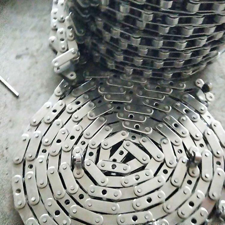 工业传动用双节距滚子链 工业机械设备传动链条 不锈钢链条
