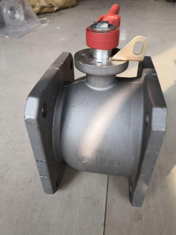 两通球阀 手动方球阀 直通球阀 铝合金方球阀 适用洒水车油罐车