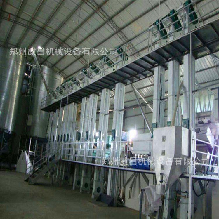 威昌供应重庆大米加工生产线 大米加工成套流水线 稻谷加工设备