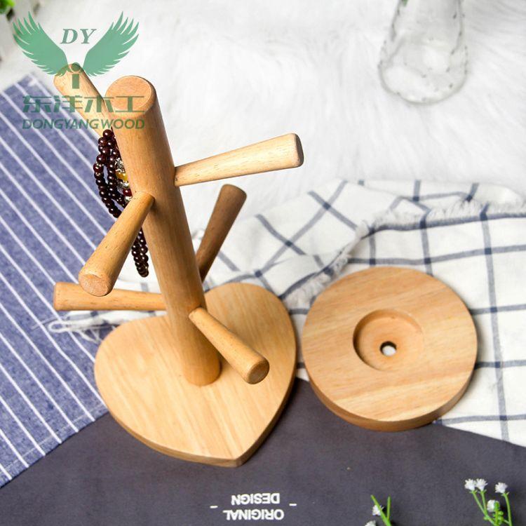 供应优质DIY实木耳机架 化妆台置物架 挂手饰木架 木工艺品厂商