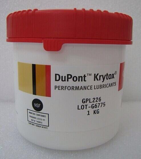 美国进口杜邦氟素润滑油 美国杜邦润滑脂GPL226 润滑脂1KG