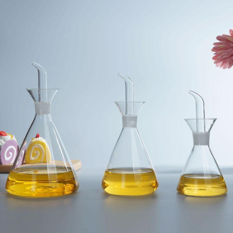 厂家批发防漏玻璃油壶 厨房家用油罐酱油瓶醋壶香油大号小号油瓶