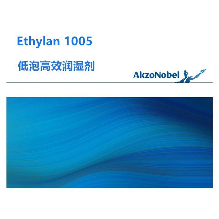 阿克苏诺贝尔1005低泡润湿剂 低泡沫低碱性清洗剂表面活性剂原料