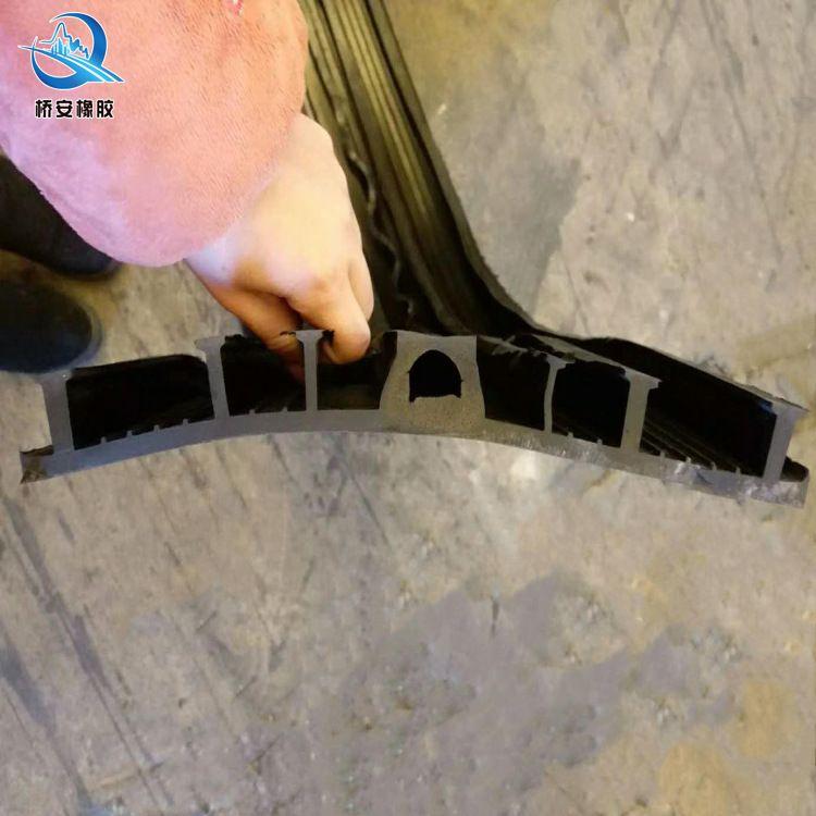 651型橡胶止水带 中埋式 外贴式钢边平板止水带可卸式U型槽止水带