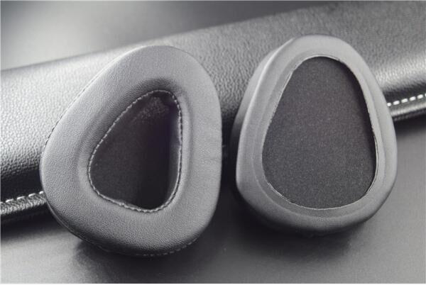耳机海绵套V25耳机棉V30耳棉套头戴式皮耳套-支持定制