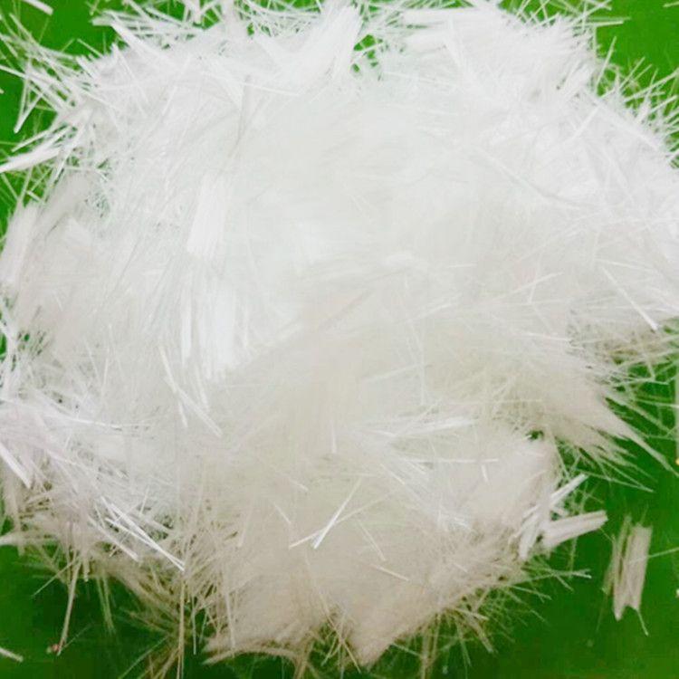 厂家生产聚丙烯短纤维  砂浆腻子添加聚丙烯纤维 抗裂耐拉纤维