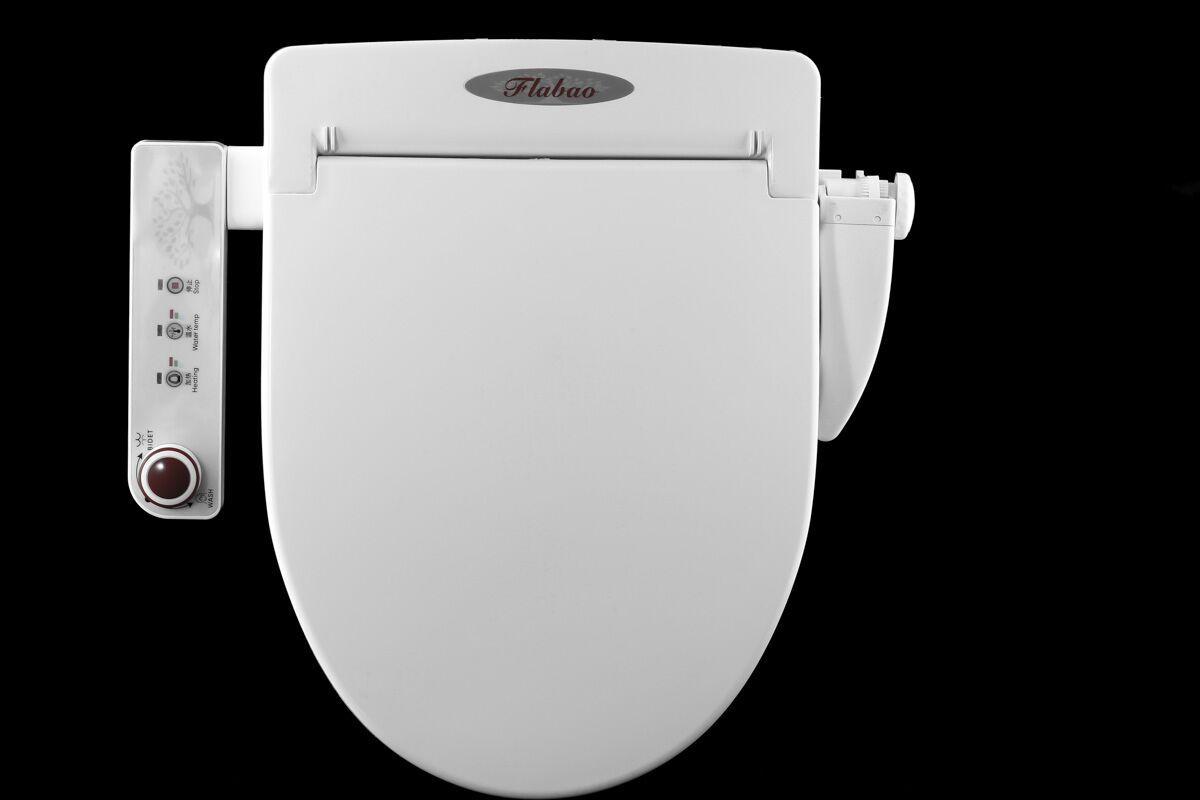 全智能机械式马桶盖自动冲洗洁身器马桶盖免掀马桶