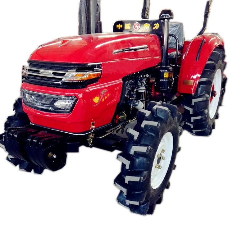 604大棚王拖拉机耐用旋耕机四轮大马力四缸拖拉机大棚型拖拉机