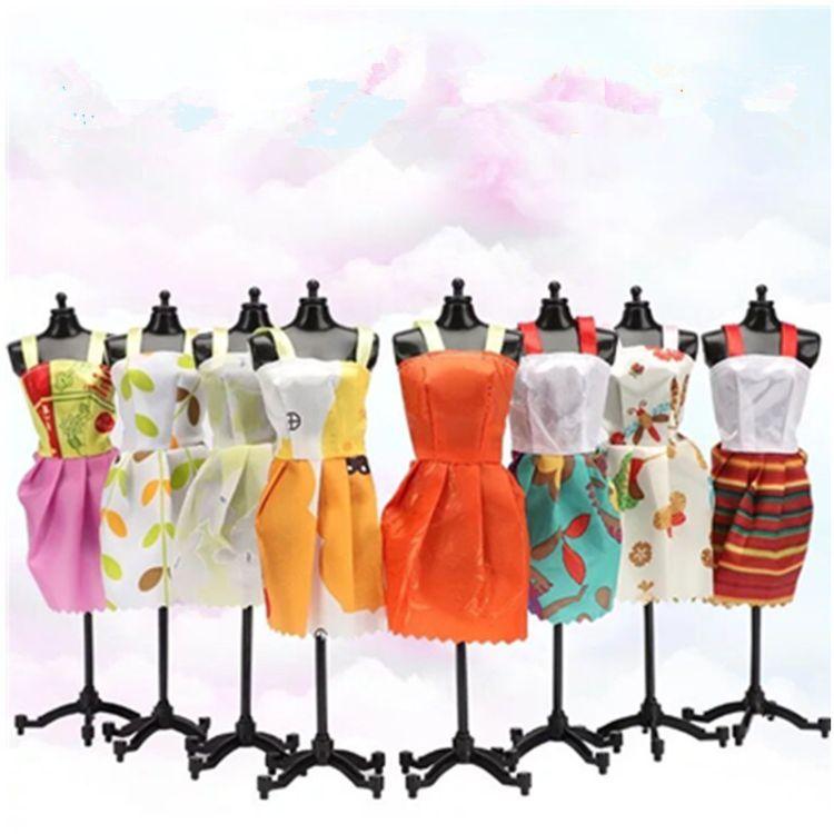 芭芘娃娃衣服裙子小礼服套装公仔娃娃女童玩具服装配件厂家直销