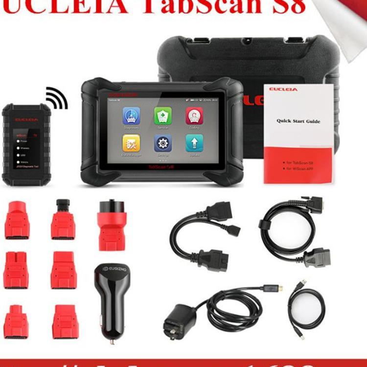 EUCLEIA TabScan S8 Automotive Intelligent Dual-mode Diagnost