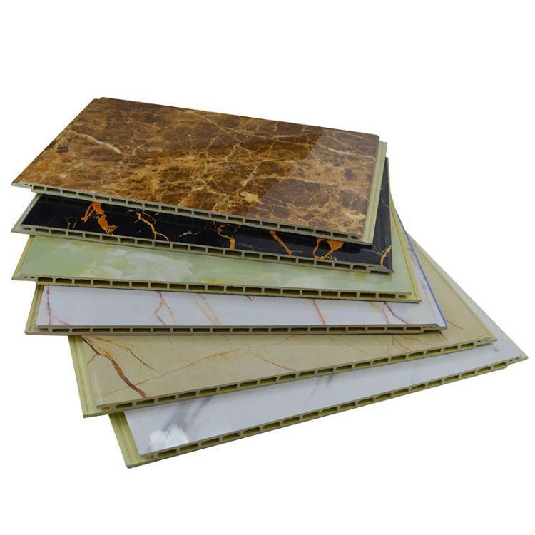 厂家低价批发环保环保防水竹木纤维板300平缝V缝竹木纤维集成墙板
