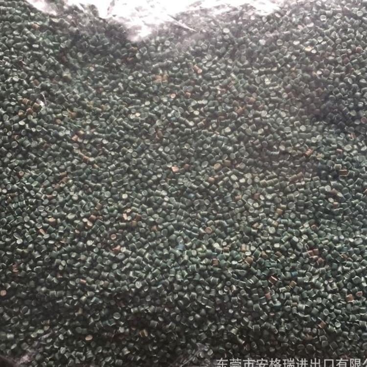 东莞再生料生产厂家供应杂色LLDPE再生塑料颗粒地下管道用再生料