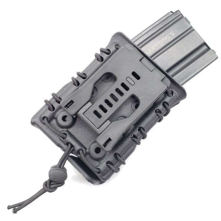 亚马逊速卖通wish爆款弹夹套7.62快拨弹夹套弹力附件盒水弹枪配件