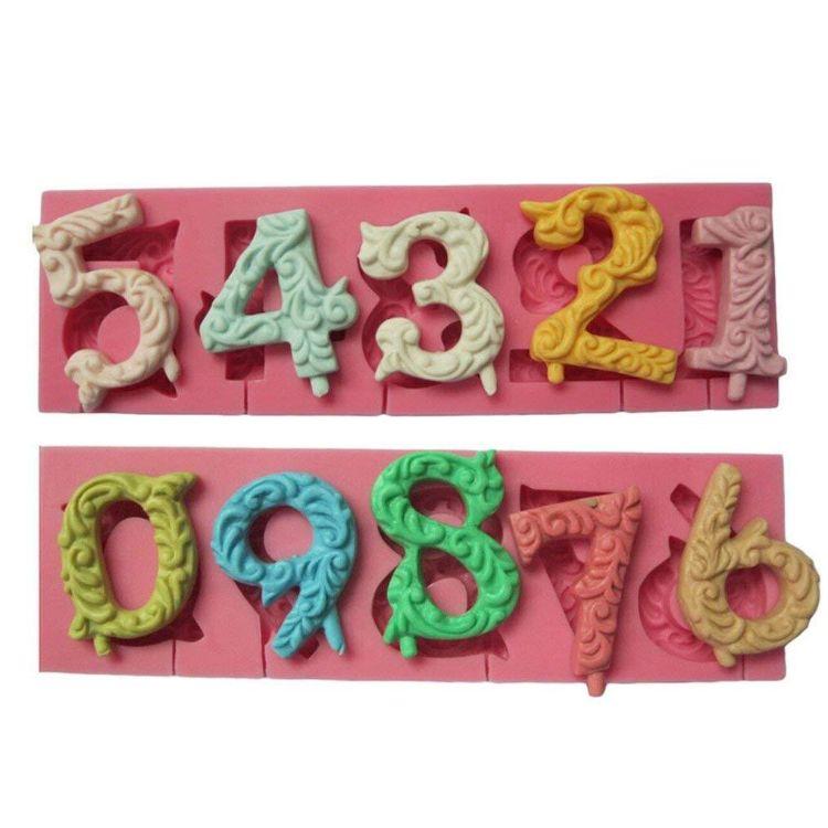 HPkong数字硅胶模巧克力蛋糕棒棒糖液态翻糖蛋糕模具bake snake