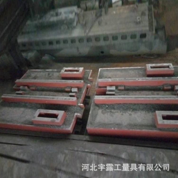 厂家加工生铁机床床身铸件 精密铸造翻砂钳工工作台