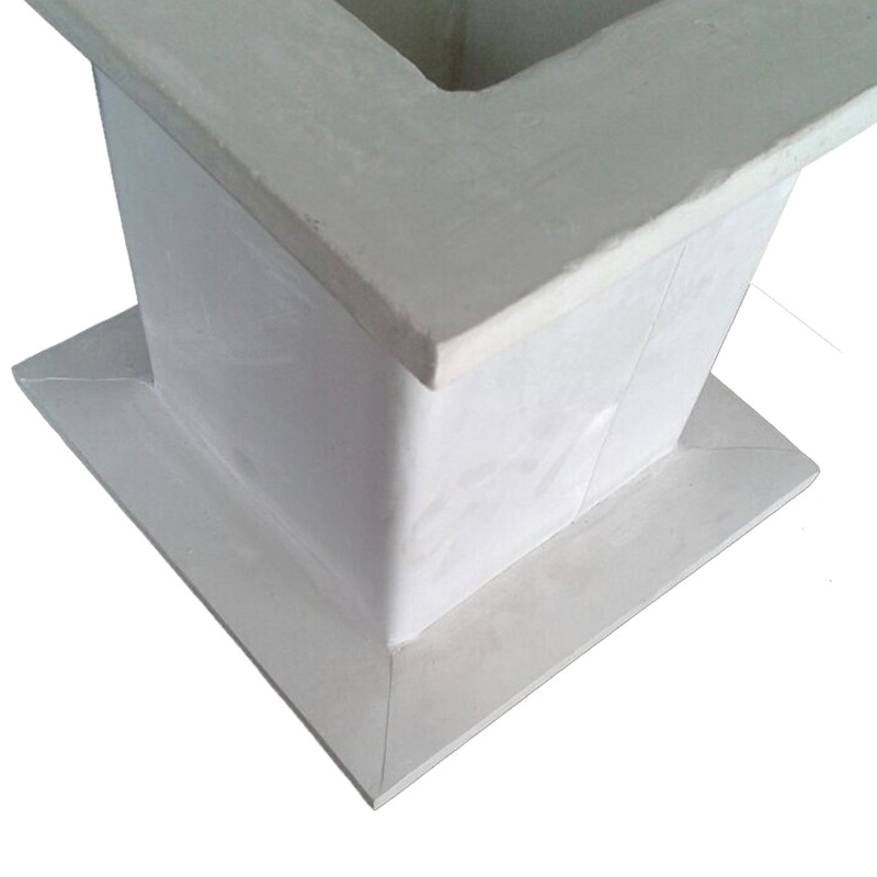 有机玻璃钢风管生产厂家生产定制耐酸碱防腐矩形通风玻璃钢管道