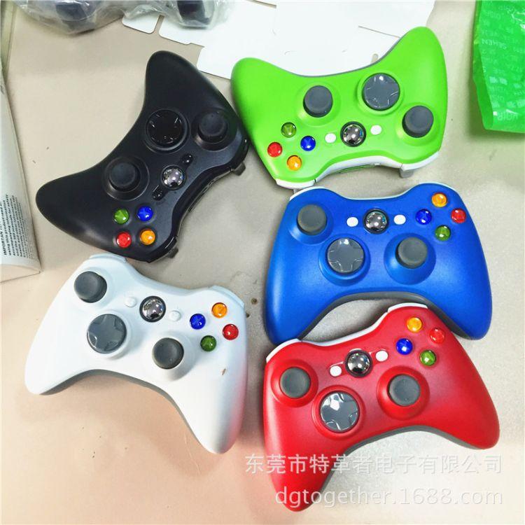 XBOX360游戏手柄蓝牙无线游戏手柄双震动多种颜色厂家直销