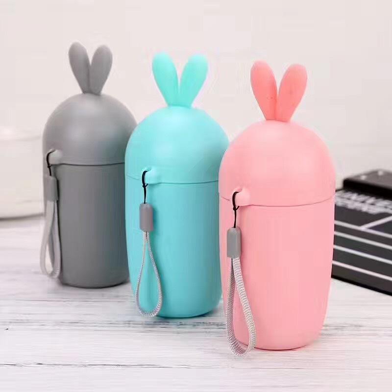家直销创意兔子玻璃杯子 硅胶套防烫玻璃杯子 时尚萝卜玻璃杯子
