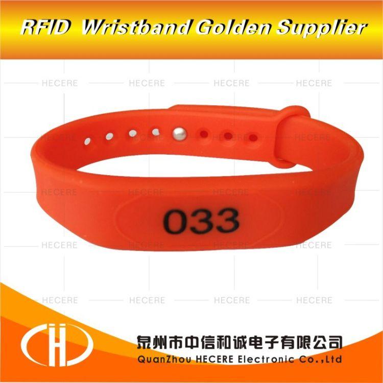 15693协议ICodeslix 2  智能腕带厂家电子标签NFC腕带 芯片卡手环