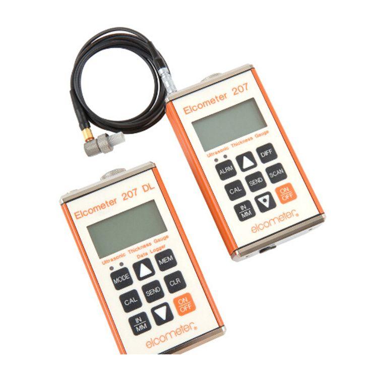 品牌数显磁性干膜测厚仪英国易高Elcometer207精密超声波测厚仪