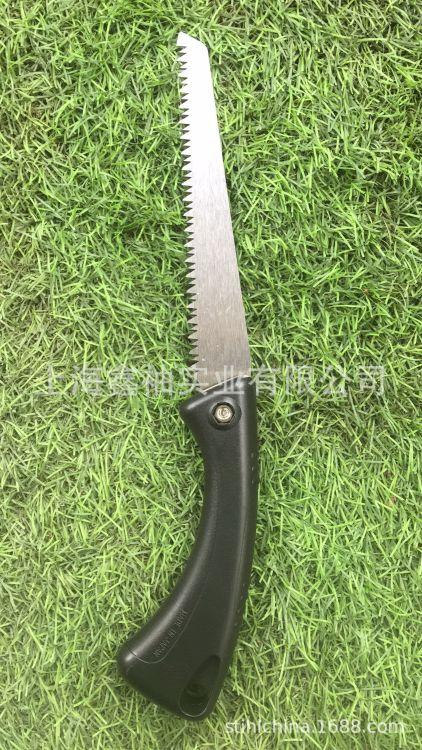 绿点品番手锯J140  山林果树锯 园艺嫁接修枝锯子带护套手锯