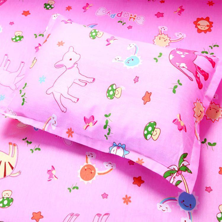 床上用品 全棉婴幼儿枕头 幼儿园保健枕 宝宝枕 儿童枕套特价批发