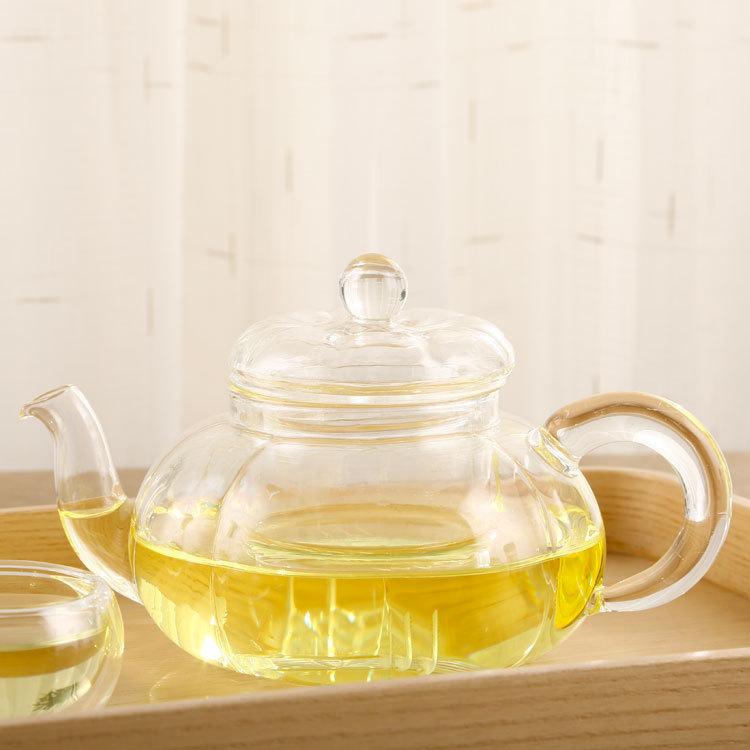 耐热玻璃茶具花茶壶耐高温玻璃壶过滤加厚功夫茶壶泡茶壶批发