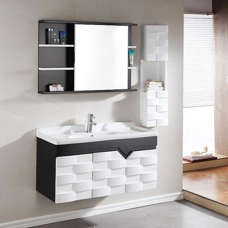 2018雅仕洁新款浴室柜 橡木卫浴洁具浴室柜 橡木浴室柜厂家直销