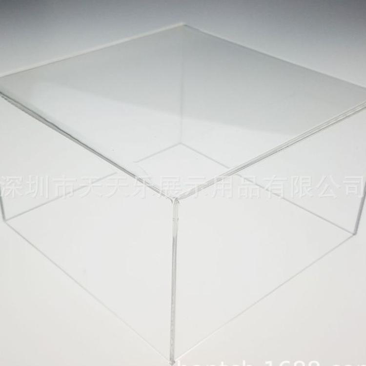 定做正方形透明亚克力收纳盒 置物盒 食品糖果亚克力盒子