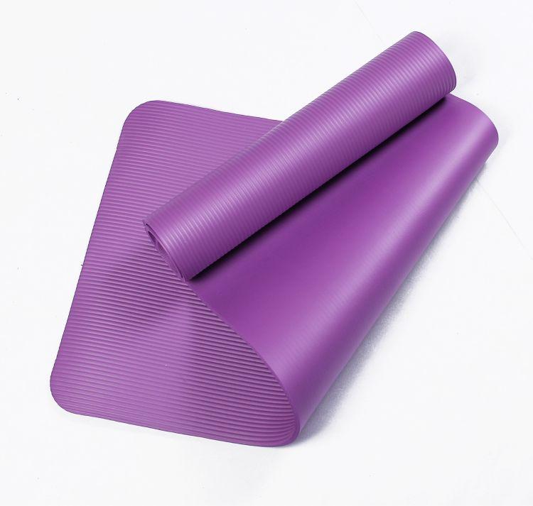 NBR10mm瑜伽垫天然软木瑜伽垫 加工定制加厚瑜伽垫运动健身垫