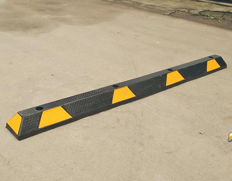 加长定位器1800*150*100mm 橡胶定位器 阻车器 停车场车轮定位器