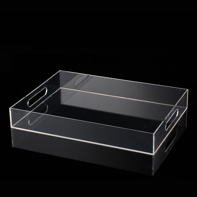 厂家批发亚克力盒子 透明玻璃方形收纳盒 亚克力玻璃制品定做