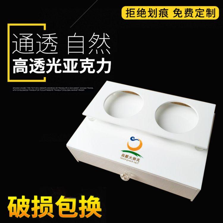 成都新高地-台卡台签 有机亚克力收纳盒 酒店用品 宾馆洗浴用品收纳盒