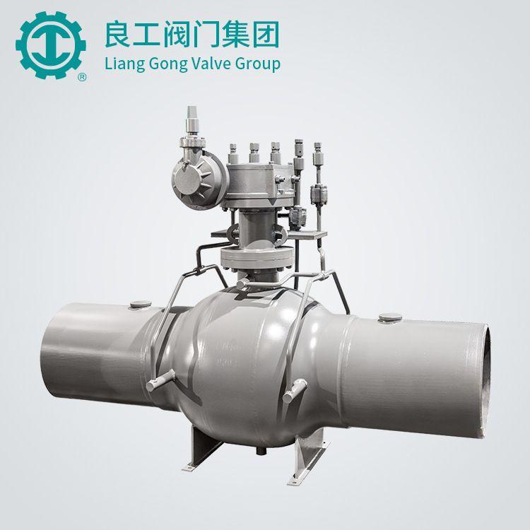 天然气管线球阀Q367F-25C 电动全焊接球阀 天然气焊接球阀