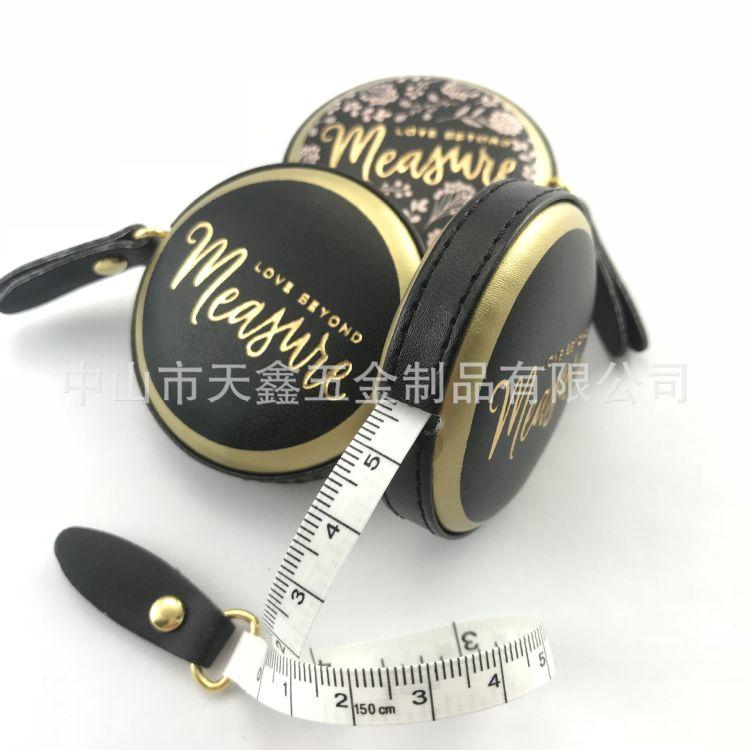 直销便携腰围测量尺子  广告礼品小皮尺 可定制LOGO1.5米PU皮卷尺