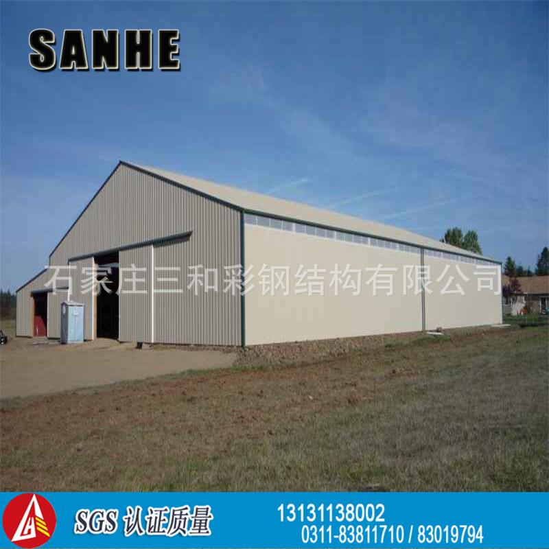 钢结构仓库- 彩钢车间-钢结构车间