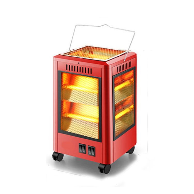 五面烧烤型取暖器小太阳四面烤火炉家用节能电暖气电热扇电炉子