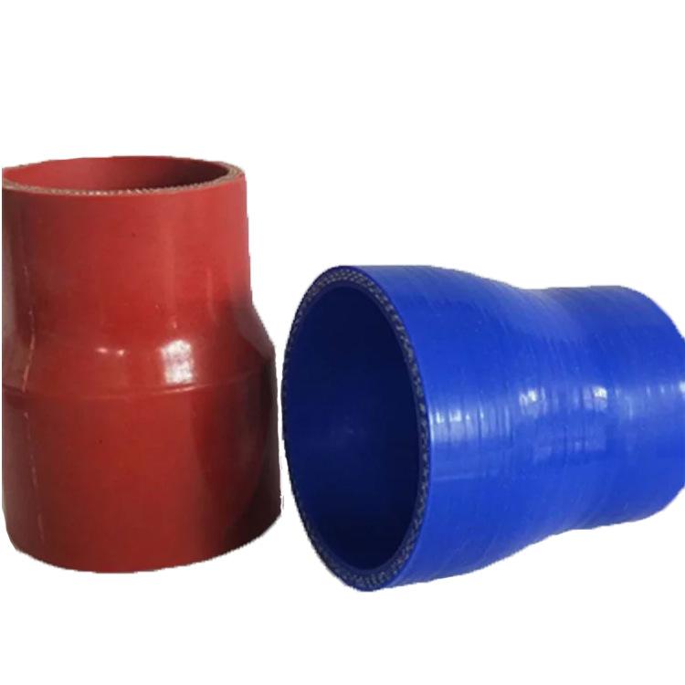 厂家直供 硅胶管变径接头 直变径40mm-50mm 大头转小头硅胶弯管变径