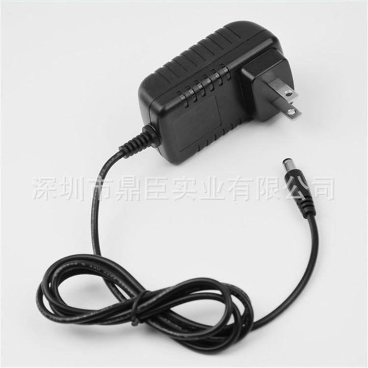 12V1A开关电源美规UL FCC DOE -六级能效认证 LED灯具电源适配器