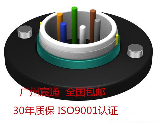 8芯中心束管铠装光缆GYXTW国标A级纤芯8芯室外光缆厂家价格