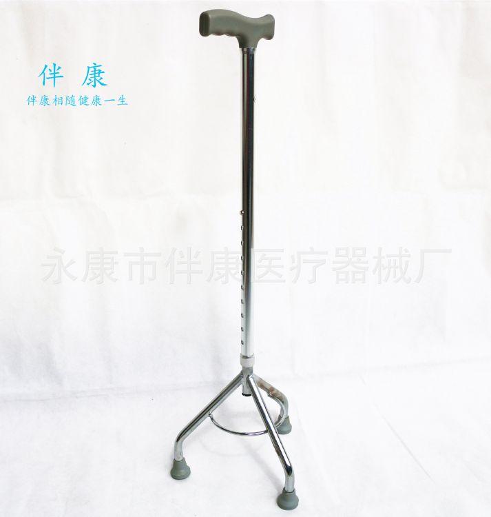 三脚手杖 老人拐杖 老人康复助步家用拐杖铝合金登山杖厂家直销