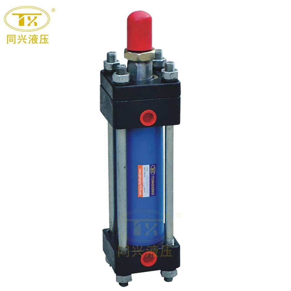 TX厂家现货直销HOB/MOB方形重型油缸 液压缸 油压缸拉杆式液压缸