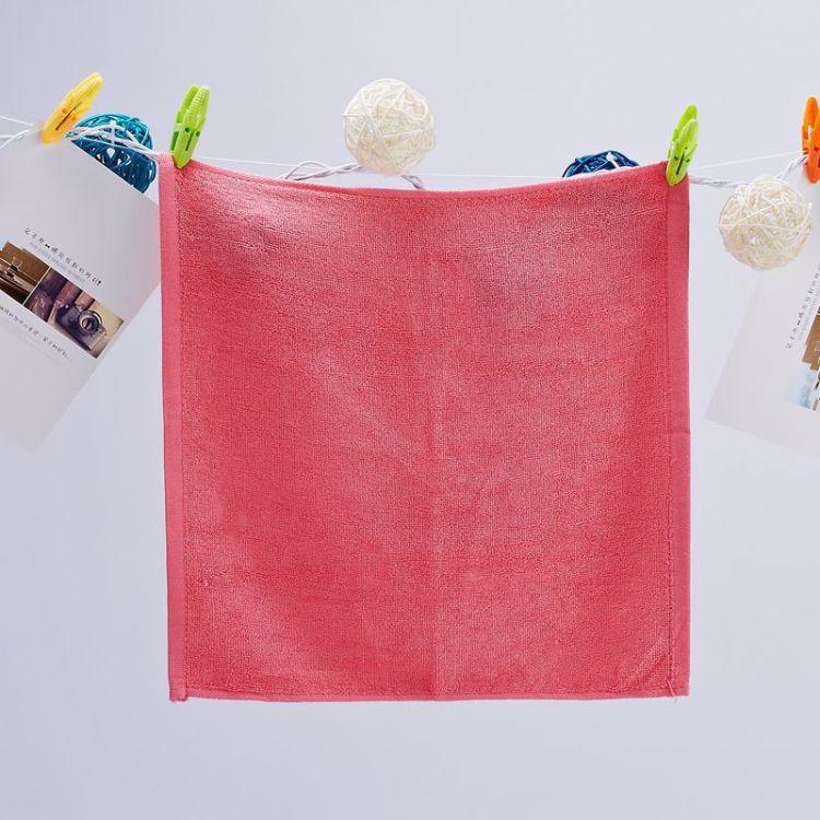 炎陵竹世宝厂家供应全竹浆再生纤维大方巾面巾MJ-16W舒适柔软姣��