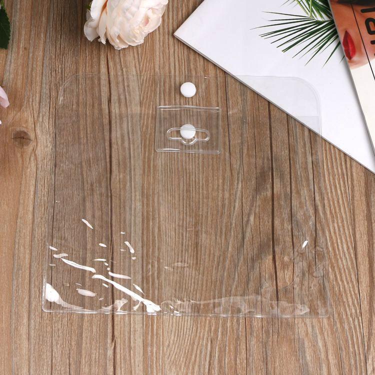 厂家供应pvc拉链袋 pvc透明袋 pvc软胶袋 塑料手提拉链袋 可定制