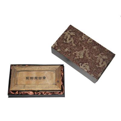 厂家批发供应木质印章盒 香樟木印章盒 可批量定制企业LOGO