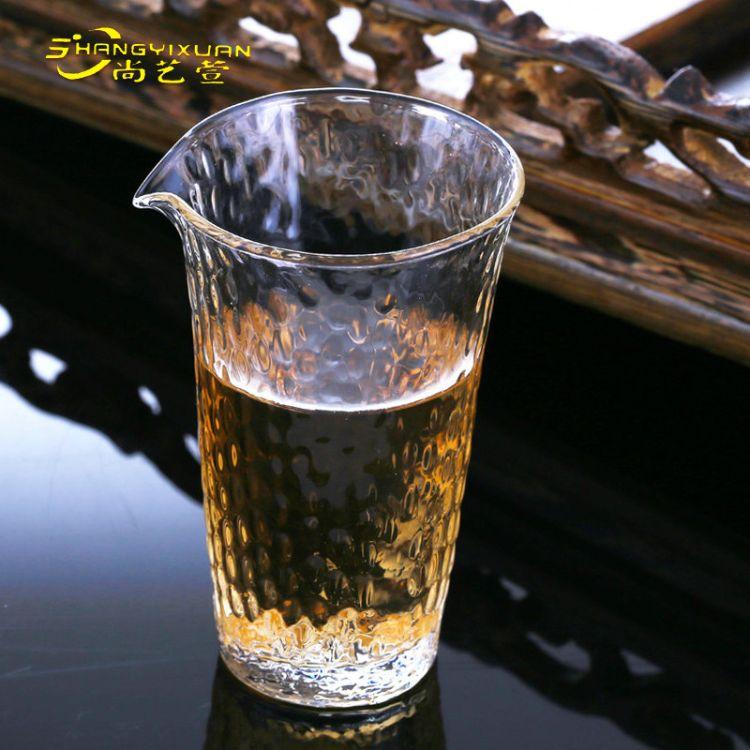 日本佐佐木玻璃杯锤纹玻璃水杯茶杯 无铅水晶玻璃绿茶杯一件代发